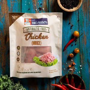 Big Sam's Antibiotic-Free Chicken Mince- 500g
