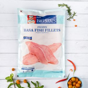 Big Sam's Basa Fillets- 1kg