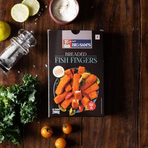 Big Sam's Fish Fingers – 200g