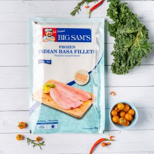 Big Sam's Indian Basa Fillets- 1kg
