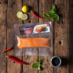 Big Sam's Norwegian Salmon Portion – Single Pack- 200g