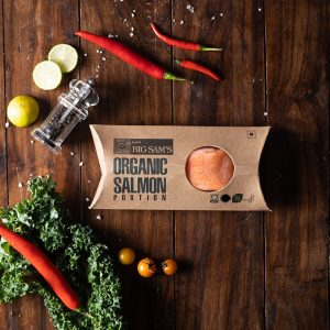 Big Sam's Organic Norwegian Salmon (150g)