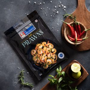 Big Sam's Prawns- Small- 250g