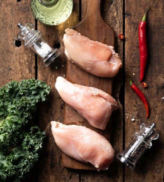 Big Sam's Antibiotic-Free Chicken Breast (Boneless)- 500g