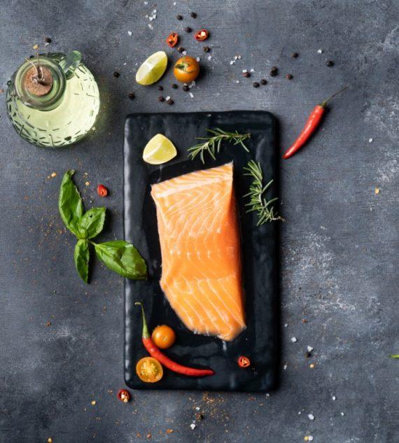 Big Sam's Organic Norwegian Salmon (150g)