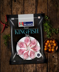 Big Sam's Kingfish (Surmai) Steaks – 500g