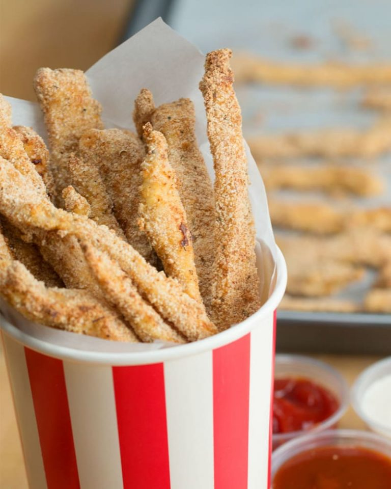 Baked Chicken Fries