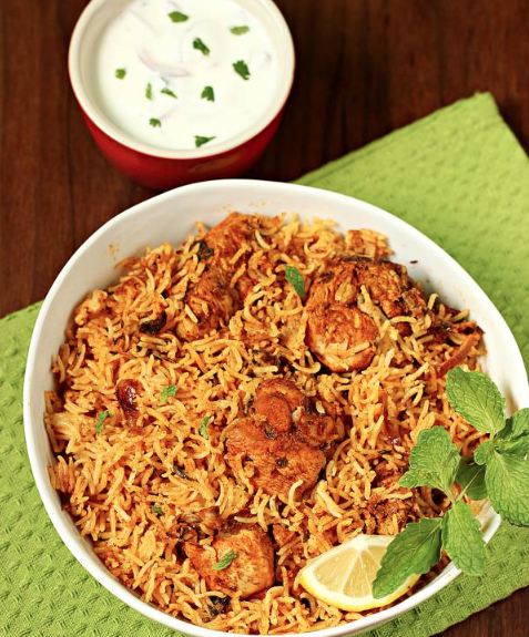 Recipe Chicken Biryani