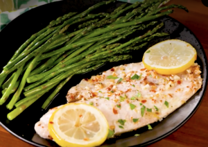 Recipe Garlicky Lemon Baked Tilapia