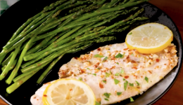 Recipe Garlicky Lemon Baked Tilapia