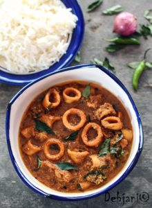 Recipe Malabar Squid Curry