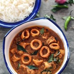 Recipe Malabar Squid Curry
