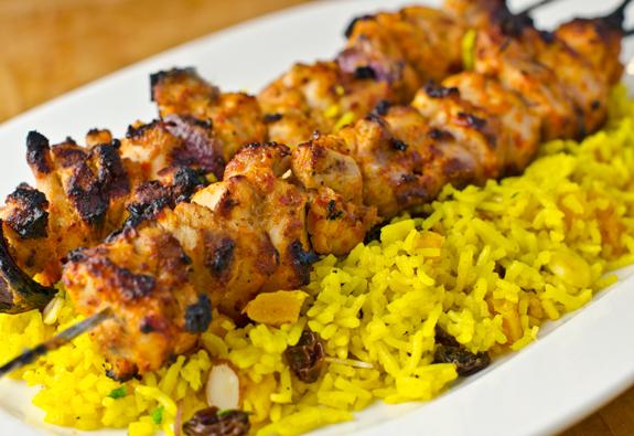 Recipe Middle Eastern Chicken Kebabs