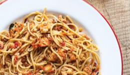 Recipe Prawn Chilli Garlic Spaghetti