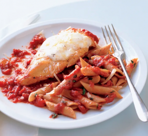 Recipe Slim Chicken Parmesan