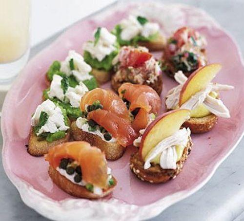 Recipe Smoked Salmon Crostini