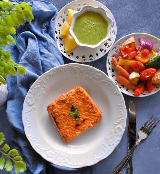 Recipe Tandoori Salmon