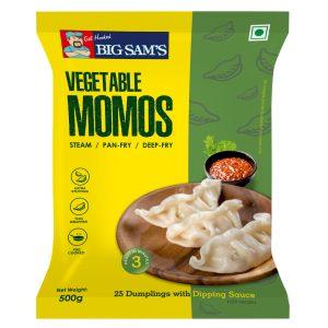 Vegetable Momos (24 Pieces) -550g