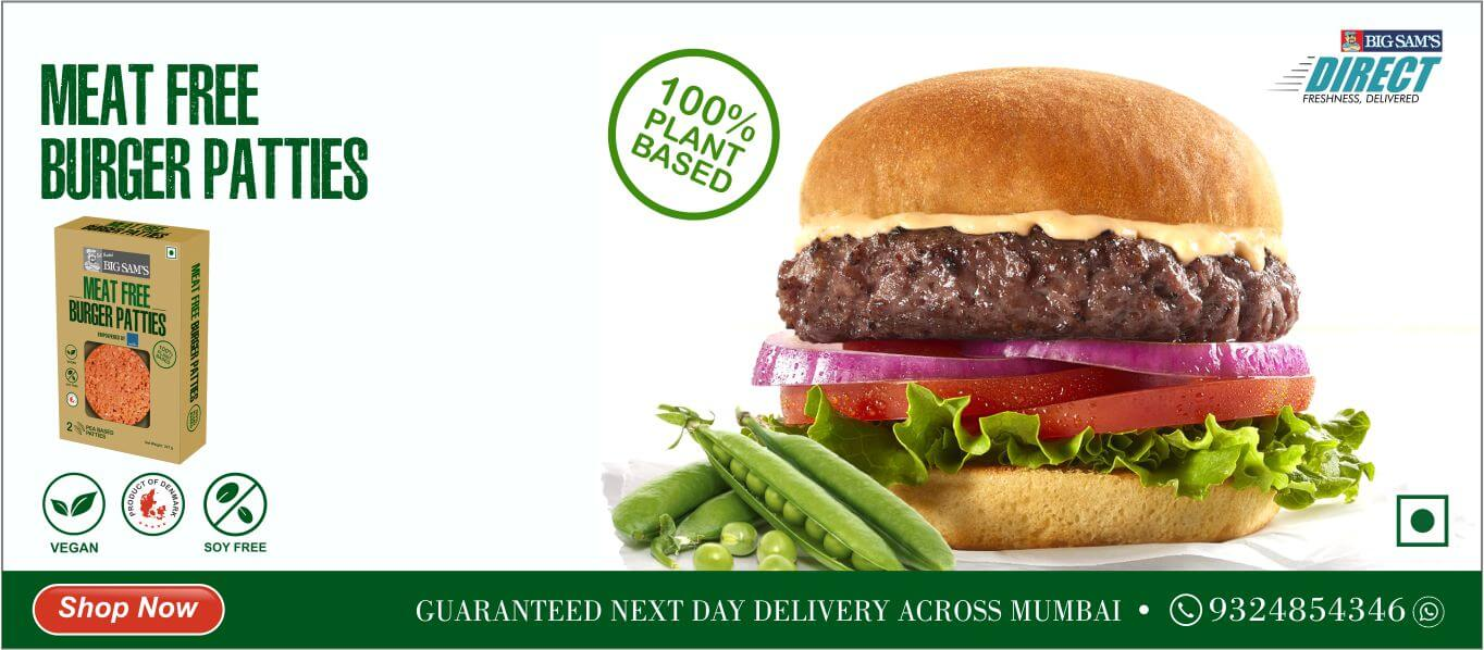 Meat Free Burger Patty