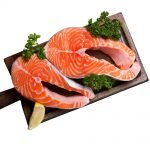 Fresh Norwegian Salmon Steaks