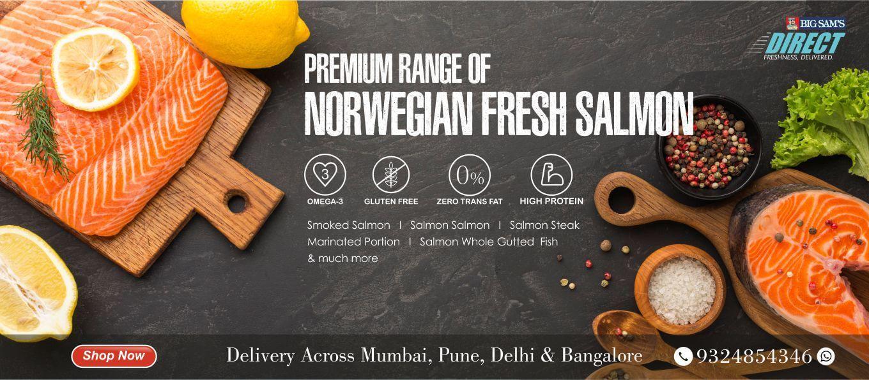 BigSam's Premium Norwegian Fresh Salmon