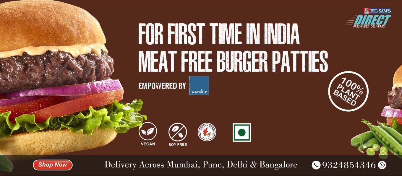 BigSam's Meat Free Burger Patty