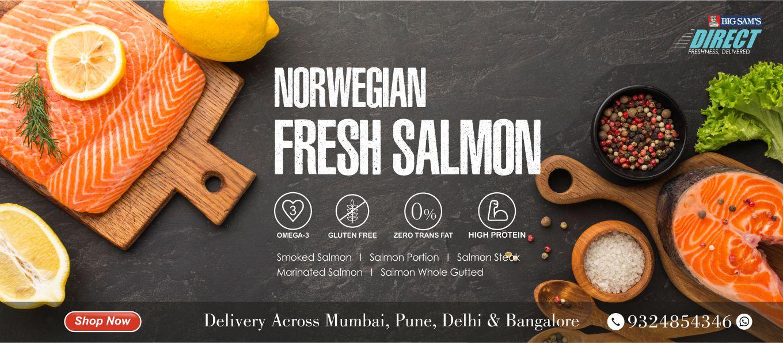 Norwegian Fresh Salmon